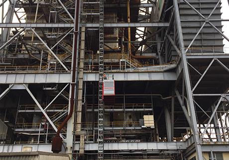 Industrial Material Hoists & Mast Climbing Platforms - Scan Rent