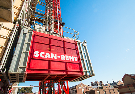 Material & Personnel Hoists - Scan Rent